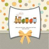 ливень карточки младенца Стоковые Изображения
