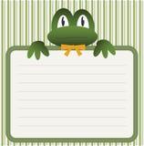 ливень лягушки младенца Стоковая Фотография