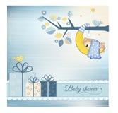ливень младенца объявления Стоковое Изображение