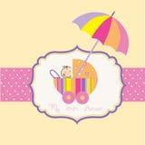 ливень младенца объявления Стоковая Фотография