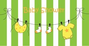 ливень младенца иллюстрация штока