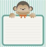ливень обезьяны младенца Стоковое Фото