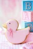 ливень печенья младенца стоковая фотография
