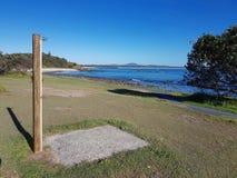 Ливень пляжа в парке стоковое изображение rf
