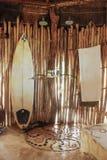 Ливень после серфинга Стоковая Фотография