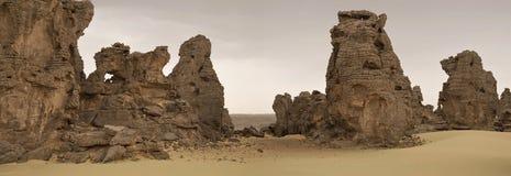 Ливийская пустыня Стоковая Фотография RF