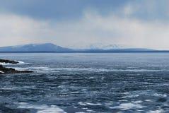 Ливни над озером Йеллоустон Стоковые Изображения