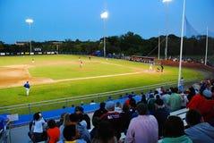 Лига бейсбола трески накидки Стоковое Фото