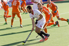 Лига мира хоккея на траве Стоковая Фотография