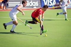 Лига мира хоккея на траве Стоковые Изображения