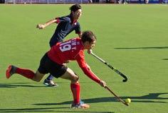 Лига мира хоккея на траве Стоковая Фотография RF
