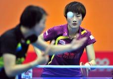 Лига настольного тенниса Китая супер Стоковая Фотография