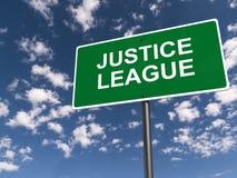 Лига правосудия стоковые изображения rf