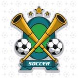 Лига турнира футбола Стоковое Изображение
