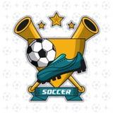 Лига турнира футбола Стоковые Изображения