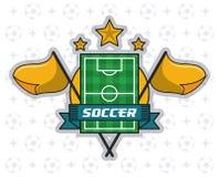 Лига турнира футбола Стоковое фото RF