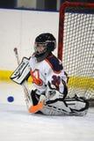 Лига хоккея на льде молодости стоковые фото