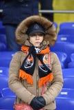 Лига чемпионов UEFA: Shakhtar Донецк v Roma Стоковая Фотография