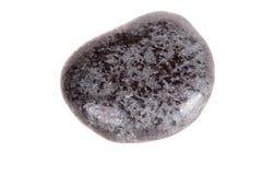 Лигнит макроса минеральный каменный на белой предпосылке стоковые фотографии rf