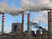 Лигнит-увольнянные заводы стоковая фотография rf