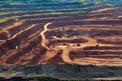 Лигнит угольной шахты для lampang Таиланда производства электроэнергии стоковое изображение