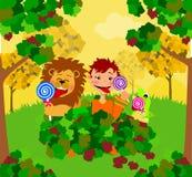Лизать Lollipops Стоковое Изображение