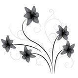 лилия flourish иллюстрация штока