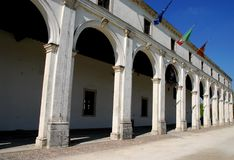 Лимерик здание муниципалитета в провинции Падуи в венето (Италия) Стоковое Фото
