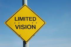 лимитированное зрение Стоковые Фотографии RF