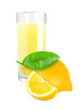 Лимонный сок Стоковое Фото