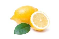 лимоны зрелые Стоковая Фотография