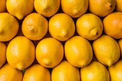 Лимоны на рынке, Филиппинах Стоковые Изображения