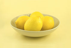 лимоны симпатичные Стоковые Фото