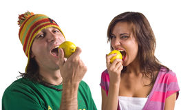 лимон вкусный Стоковые Фотографии RF