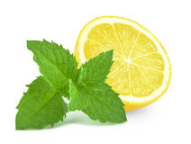 Лимон и мята Стоковая Фотография RF