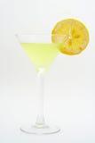 лимон коктеила зеленый Стоковая Фотография