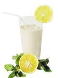 лимон коктеила milky Стоковое фото RF