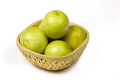 лимон корзины Стоковые Фото