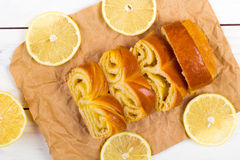 Лимон крена Стоковое Изображение RF