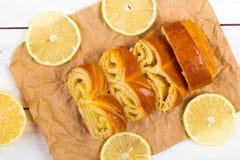 Лимон крена Стоковое фото RF