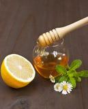 лимон меда Стоковые Изображения RF