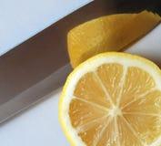 лимон ножа Стоковые Изображения