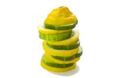 лимон огурца Стоковое Фото