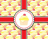 лимон подарка пирожня иллюстрация штока