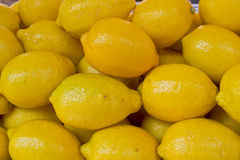 лимон предпосылки Стоковая Фотография