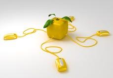 лимон связей кубический Стоковые Фотографии RF
