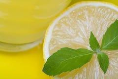 лимон сока Стоковые Фото