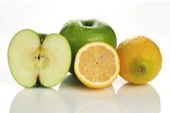 лимон яблока Стоковая Фотография
