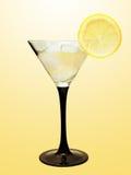 лимон martini льда Стоковые Изображения RF