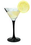 лимон martini льда Стоковое Изображение RF
